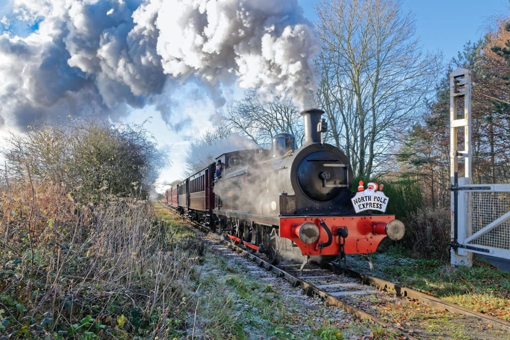 Tanfield Railway North Pole Express