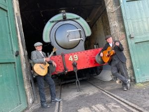 Tanfield Tunes at East Tanfield station